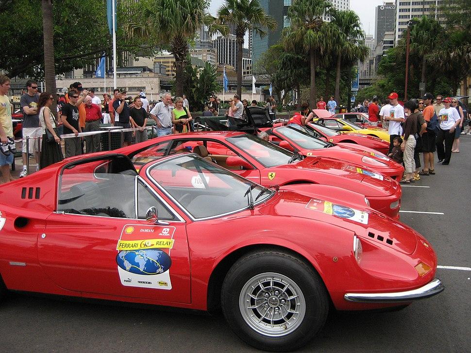 Cavalcade of Ferraris at the Liner Terminal celebrating 50 years of Ferraris in Australia (2007) - panoramio