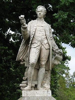 Antonio José Cavanilles - Statue of Cavanilles at the Royal Botanical Garden of Madrid