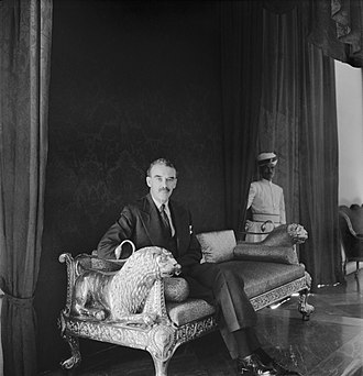 Richard Casey, Baron Casey - Baron Casey at Government House, Calcutta, during World War II