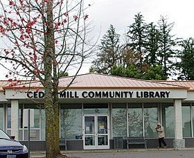 Cedar Mill Community Library - Oregon.JPG