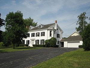 Cedarville, Illinois - John H. Addams Homestead, Birthplace of Jane Addams, Cedarville, Illinois.