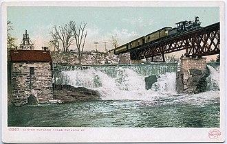 Rutland Railroad - Image: Center Rutland Falls, Rutland, VT