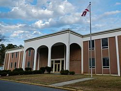 Central Alabama Community College George C. Wallace Administration Building.JPG