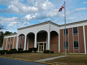 Central Alabama Community College - George C. Wallace Administration Building in Alexander City