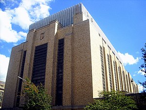 Southwest Federal Center - Central Heating Plant for the government offices in Southwest Federal Center