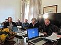 Cerimónia de assinatura do memorando de entendimento entre Wikimedia Portugal, UAb, CIDH, LE@D e CLEPUL - IMG 8010.jpg