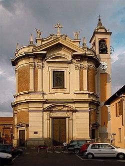 Cerro Maggiore - chiesa dei Santi Cornelio e Cipriano - facciata.jpg