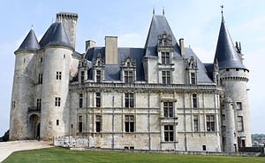 La Rochefoucauld, Charente - The Renaissance wing of La Rochefoucauld