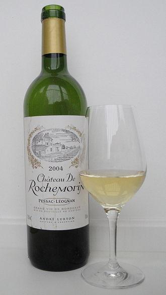 Pessac-Léognan - A white wine from Pessac-Léognan.