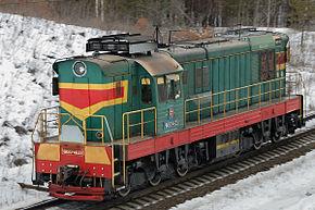 ChME3型柴油机车