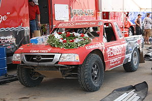 Chad Hord - Hord's Pro Lite truck that won 2009 World Championship race at Crandon