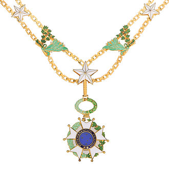 Order of the Southern Cross - Image: Chain of order of southern cross
