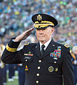 Chairman of the Joint Chiefs of Staff U.S. Army Gen. Martin E. Dempsey renders honors Sept 140906-D-KC128-075.jpg