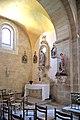 Chapelle nord de l'église Sainte-Croix du Bouyssou.jpg
