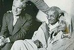Chaplin and Gandhi 1931.jpg
