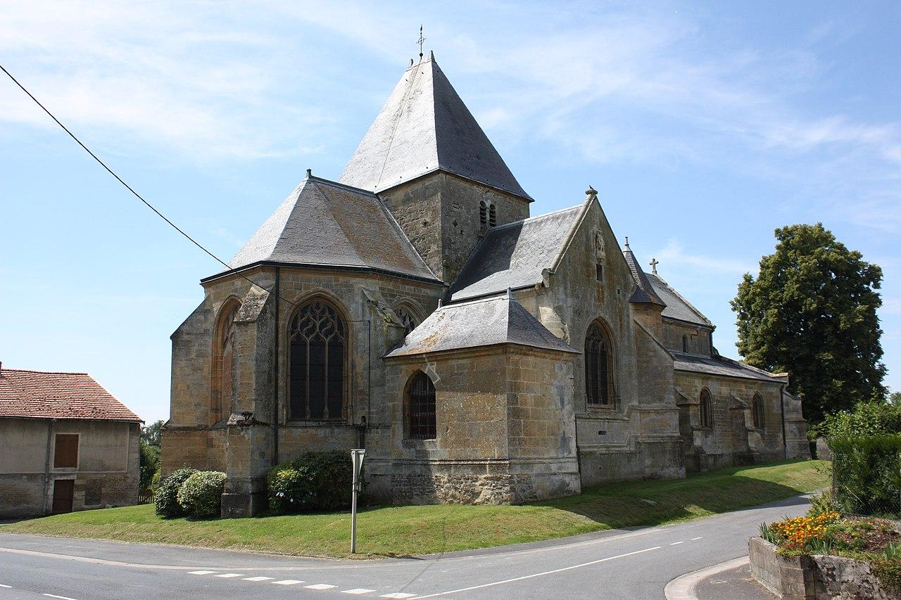 Charbogne (08 Ardennes) - Église Saint-Remi - Photo Francis Neuvens.JPG