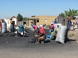 Charcoal at market Ekunha Angola.jpg