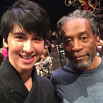 Charlie Albright - Albright with Bobby McFerrin in January, 2015