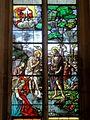 Chaumont-en-Vexin (60), église Saint-Jean-Baptiste, verrière n° 5 - baptême du Christ.JPG