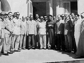Gaza Strip - Che Guevara visiting Gaza in 1959