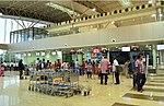 Checkin counters at Madurai airport.jpg