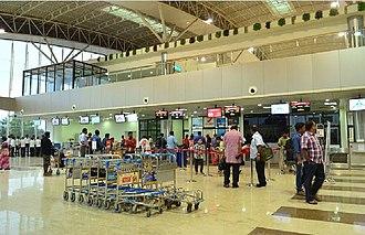 Madurai Airport - Check-in counter at Madurai Airport