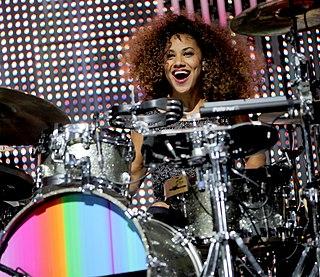Cherisse Osei English drummer