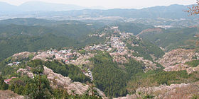 Cherry blossoms at Yoshinoyama 10.jpg