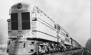 Up to eleven - Image: Chesapeake and Ohio Railway steam turbine locomotive 500