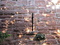 Chester city walls in The Water Tower Gardens (2).jpg
