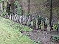 Children's gravestones, Acton Cemetery - geograph.org.uk - 177872.jpg