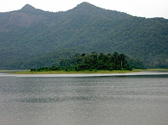 Chimmony Wildlife Sanctuary - 30 km (19 mi) from Thrissur City. Chimmony Dam-10.JPG