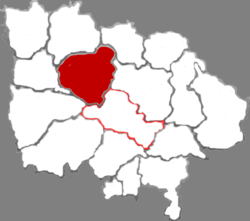 Pu County in Linfen