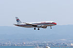 China Eastern Airlines ,MU525 ,Airbus A320-214 ,B-6003 ,Arrived from Beijing ,Kansai Airport (16182173073).jpg