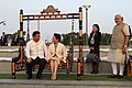 Chinese President and First Lady visit Sabarmati Riverfront, accompanied by the PM (15276056445).jpg