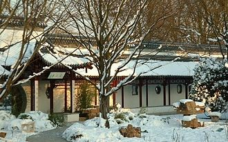 Luisenpark - Chinese tea house