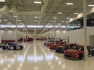 Chip Ganassi Racing - Chip Ganassi Racing race shop in Concord, North Carolina