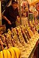 Chocolate fondue sticks, Shiroishi-jinja Festival, 2008-09-12.jpg