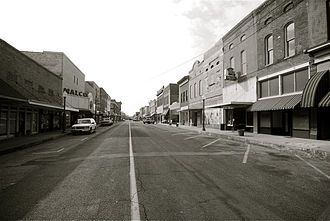 Crowley's Ridge Parkway - Cherry Street carries Crowley's Ridge Parkway through downtown Helena, Arkansas and the Cherry Street Historic District.