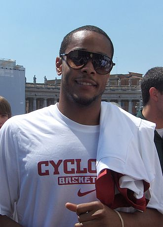2011–12 Iowa State Cyclones men's basketball team - Chris Allen in Italy (Vatican)