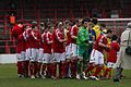 Chris Maxwell Wrexham FC at Wembley 2013 02.jpg
