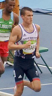 Chris OHare British athlete