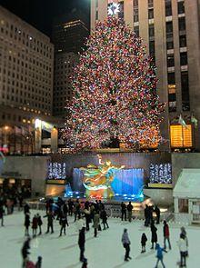 Rockefeller center wikipedia - Weihnachtsbaum new york ...