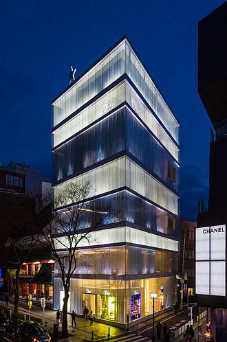 SANAA - Christian Dior building, Omotesandō