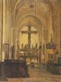 Christian Olavius Zeuthen - Kirkeinteriør - 1844.png