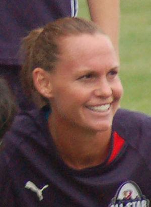 Christie Pearce - Image: Christie Rampone captain 2009