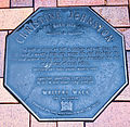 Christine Johnstone memorial plaque in Dunedin.jpg