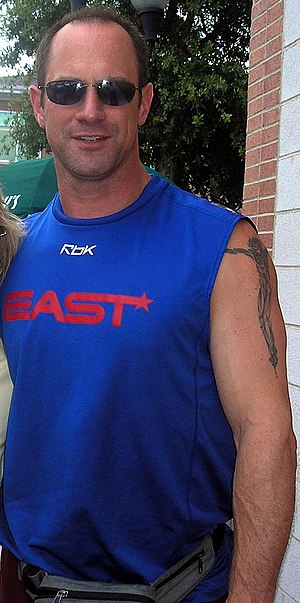 Christopher Meloni - Meloni in Wilmington, North Carolina, while filming Nights in Rodanthe