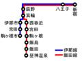 Chuo Highway Bus Ina-Iida Line ja.png