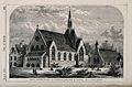 Church and School at Agar Town, London; elevation. Wood engr Wellcome V0013657.jpg